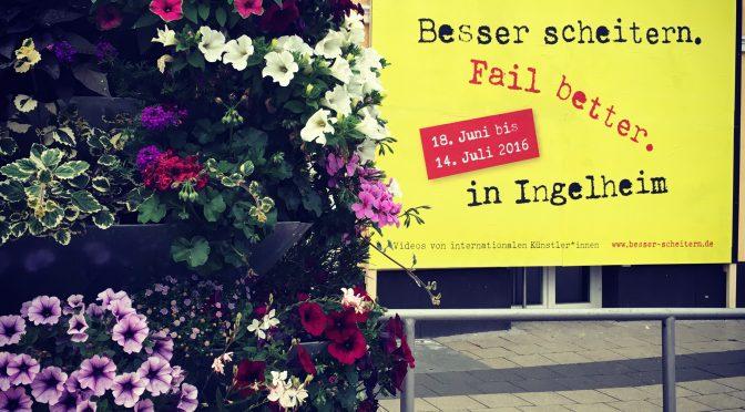 """Kunst und Öffentlichkeit – """"Besser Scheitern"""" in Ingelheim"""